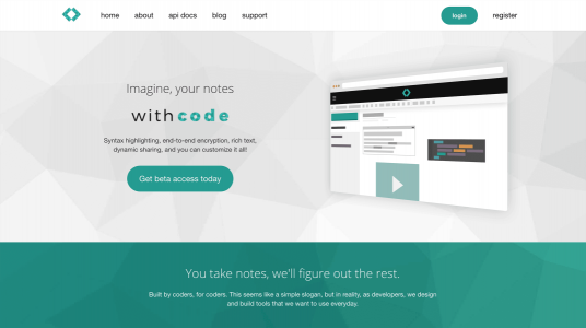 Notes With Code website